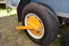 Cool Room Hire wheelclamp