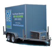 Trailer Coolroom Hire in Melbourne - Coldcube
